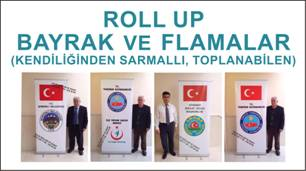 ROLL UP BAYRAK FLAMA